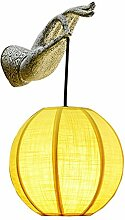CCYYJJ Wandleuchte Wandleuchte Home Decoration Bergamotte Antiken Zen 2 Abmessungen Retro Retro Geeignet Restaurant Living Room Bar Pavillon Apartment (Größe: Drei Geladen)