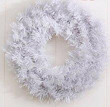 cczxfcc 1 Stück PVC Gewöhnlichen Weihnachtskranz