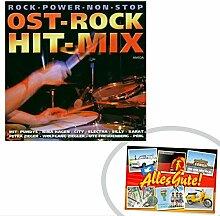 CD Ost Rock Hit Mix   INKL DDR Geschenkkarte   Ostalgie   Ideal für jedes DDR Geschenkset   Ostprodukte