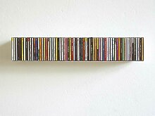 CD-Regal Linea 1 linea1 weiß, Designer Apuzzo &