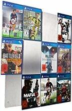 CD-Wall PS4 Regal - PS4 Aufbewahrung Wandregal