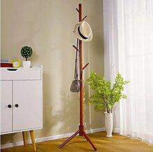 Cdbl Eisenbekleidung Regale Einfache Aufhänger/kreative Schlafzimmer Kleiderständer/Boden hängen Kleider Regal/einfache moderne Multifunktions-Aufhänger Kleiderhaken (Farbe : 4*, größe : H175*W40CM)