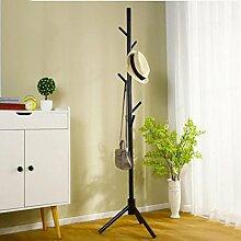 cdbl-Eisenbekleidung Regale Einfache Aufhänger / kreative Schlafzimmer Kleiderständer / Boden hängen Kleider Regal / einfache moderne Multifunktions-Aufhänger Kleiderhaken ( Farbe : 1* , größe : H175*W40CM )