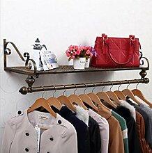 cdbl-iron Kleidung Regalen Retro Style Wandbild