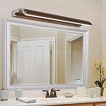 cdbl-Schminkspiegel Spiegel-vordere Lichter, europäische Art LED-Lichter, moderne minimalistische Art- und Weisewand-Lampe, wasserdichte Badezimmer-Spiegel-Lichter, Verfassungs-Lichter Spiegelfrontlicht ( größe : 10w53cm )