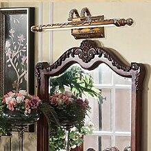 cdbl-Schminkspiegel Spiegel-vordere Lichter, LED-europäische Spiegel-vordere Lichter, Retro- Badezimmer-Spiegel-vordere Lichter, Badezimmer-Spiegel-Kabinett-wasserdichte Nebel-Lichter Spiegelfrontlicht ( größe : 7w54cm )
