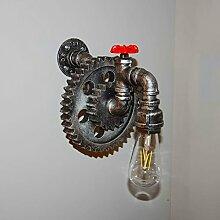 cdbl-Wandlampe LOFT Retro Industrial Style Eisen
