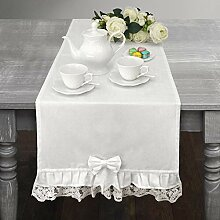CdCasa Tischläufer, Tischdecke, Deckchen Läufer