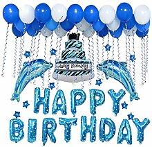 Cdet Geburtstags Ballon Geburtstagsdeko Geburtstag
