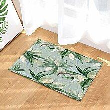 cdhbh Botanischen Pflanzen Watercolor Mandeln mit