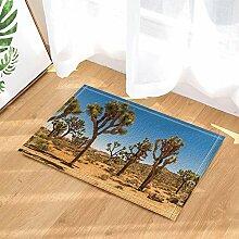 cdhbh Desert Pflanzen Decor Joshua Bäume Vorhang