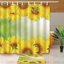 cdhbh Watercolor Blumen Decor Gelb Sonnenblume