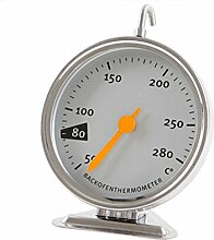 CDKJ Edelstahl-Ofen-Überwachung Thermometer