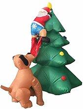 CDL Aufblasbarer Weihnachtsbaum mit