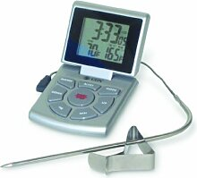 CDN Leave-In Bratenthermometer mit Timer und Uhr,