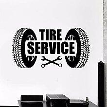 CDNY Auto Reifen Service Logo Autoreparatur Garage