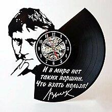 CDNY Retro Vinylplatte Wanduhr Film Charakter