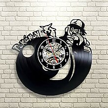 CDNY Vinyl Rekord Wanduhr mit Beleuchtung