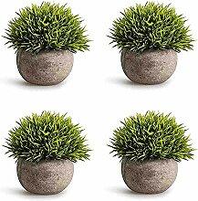CDWERD Künstliche Topfpflanze Künstliche