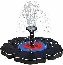 Ceally Solar Power Pump, Vogelbad Brunnen Wasser