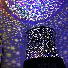 Ceanfly Projektor Lampe USB LED Sterne Nachtlicht