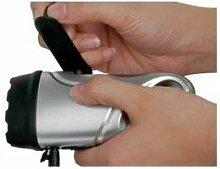 CEBEK Taschenlampe von Hand und Handy-Ladegerät