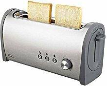 Cecotec Toaster Steel & Toast 1L. Mit Kapazität