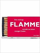 Cedon GmbH Flamme, Dante - Streichhölzer mit