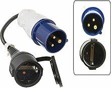 CEE Adapter 230 Volt 3-polig