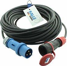 CEE Adapterleitung KALLE Blue CEE Stecker auf