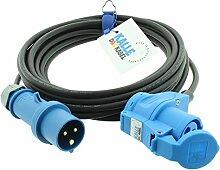 CEE-Verlängerungskabel mit Winkelkupplung H07RN-F