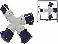 CEE Verteilersteckdose dreifacher Anschluß 16A - 230V