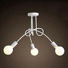 Ceiling Lights Decken-Leuchte aus Metall E27 LED