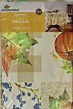 Celebrate! Harvest Tischdecke, Vinyl, rund,