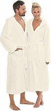 CelinaTex Bademantel mit Kapuze für Damen und