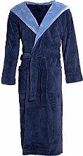 CelinaTex Texas Bademantel Kapuze XXXL dunkel blau