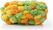 Celine Lin Big Ball Dick Schal Garn Baby Decke Garn Sofa Kissen grob Hand Häkeln Garn, 150g Multicolored003
