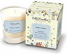 Celtic Kerzen Becher 20cl Aromapot Fresh Cotton,