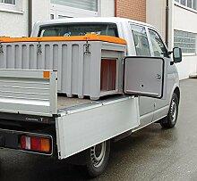 CEMO GmbH CEMbox 750 grau/orange 750 Ltr. kranbar Tür