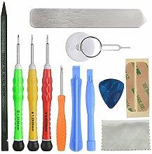 cemobile 13in 1Reparatur Tool Kit Öffnung Pry Werkzeuge und Schraubendreher-Set für iPhone 4/4S/5/5S/5C/6/6/6Plus/iPad 4/3/2/Mini, iPods und mehr