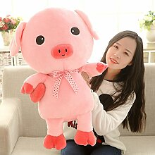 Cengbao Nettes Schwein Plüsch Spielzeug grosse Pink Pig Puppe für Männer und Frauen geburtstag Geschenk Valentine Doll's Schwein Schwein Puppe, rosa Schwein, 35cm