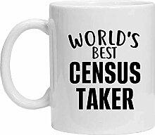 Census Taker Tasse – Worlds Best Census Taker