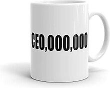CEO Tasse Funny Business Mug Leadership Mug Funny