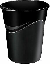 CEP 14Liter GreenSpirit Mülleimer-Set, schwarz (12Stück)