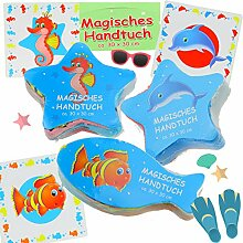 Cepewa 6X Magisches Handtuch Nemo Fische