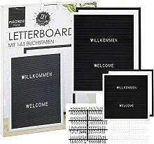 Cepewa Letter Board Stecktafel Memoboard