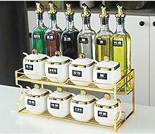 Ceramic Spice Box Würzen Flasche Kombination Set