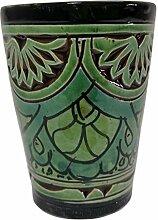Ceramica Terracotta Teeglas Marokkanische Vino
