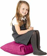 Cerise Pink, gesteppte, wasserabweisende Kissen Sitzsack