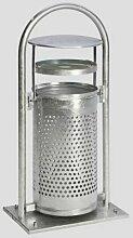 Certeo - Abfallbehälter | Für Außen | 65 l |